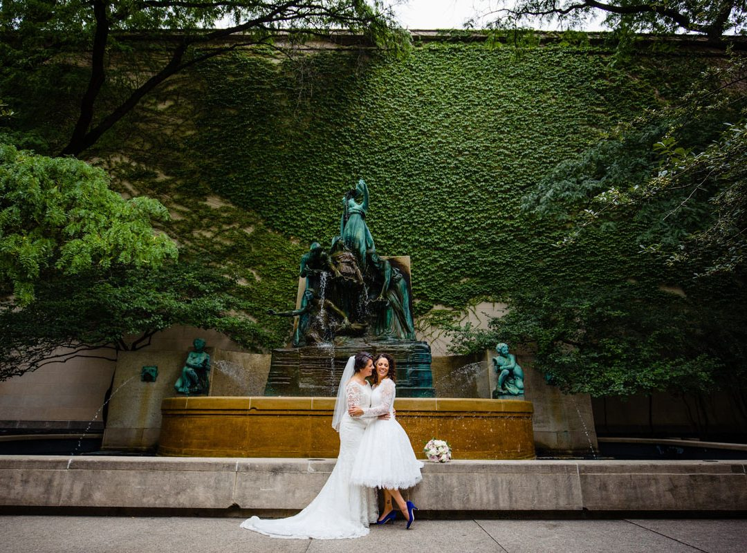 Bridgit + Daphne. A Same-Day Edit. | Wedding Videography at The Art Institute of Chicago.