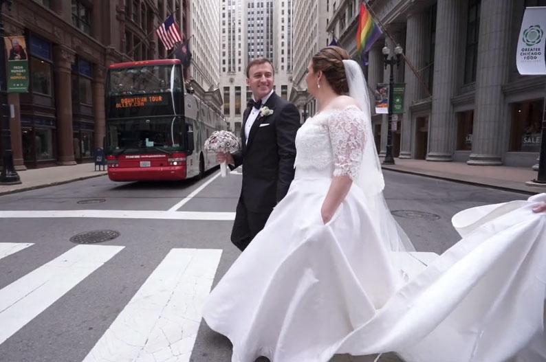 Lindsey + John | The University Club Wedding Videography