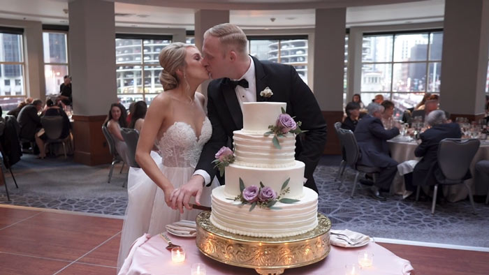 Megan + Buddy | Chicago Wedding Videography at Renaissance Hotel