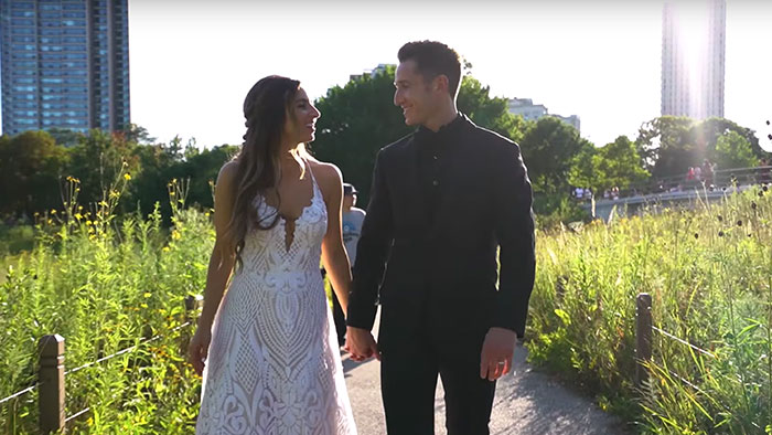 Maryl + Jonathan | Chicago Wedding Videography at Cafe Brauer